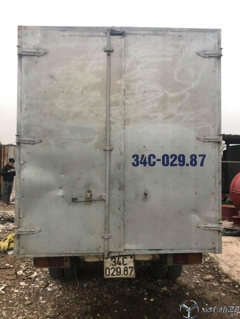 Thanh lý gấp xe Vinaxuki 1 tấn đời 2012 thùng kín
