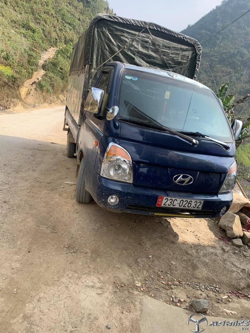 Bán gấp xe Hyundai Porter II sản xuất 2005 thùng mui bạt giá rẻ , sẵn xe giao ngay