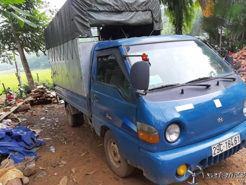 Thanh lý gấp xe Hyundai Porter 1 tấn đời 1999 thùng mui bạt với giá chỉ 50 triệu