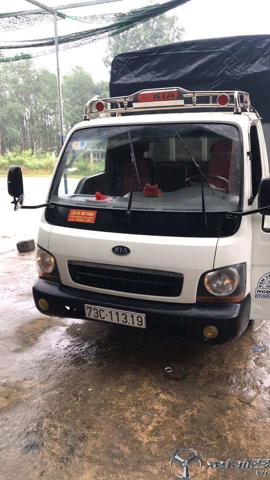 Bán xe Kia K2700II đời 2013 thùng mui bạt với giá chỉ 180 triệu , sẵn xe giao ngay