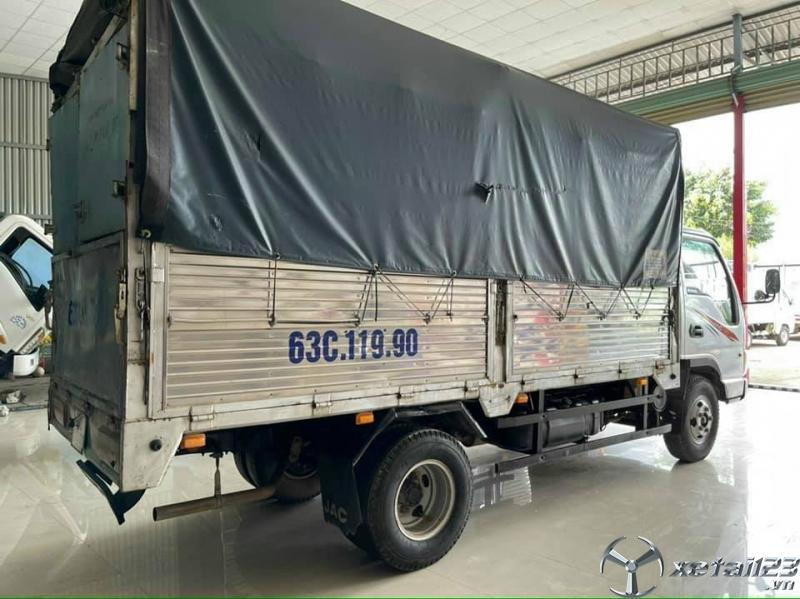 Bán JAC 3,5 tấn đời 2016 thùng mui bạt giá tốt nhất
