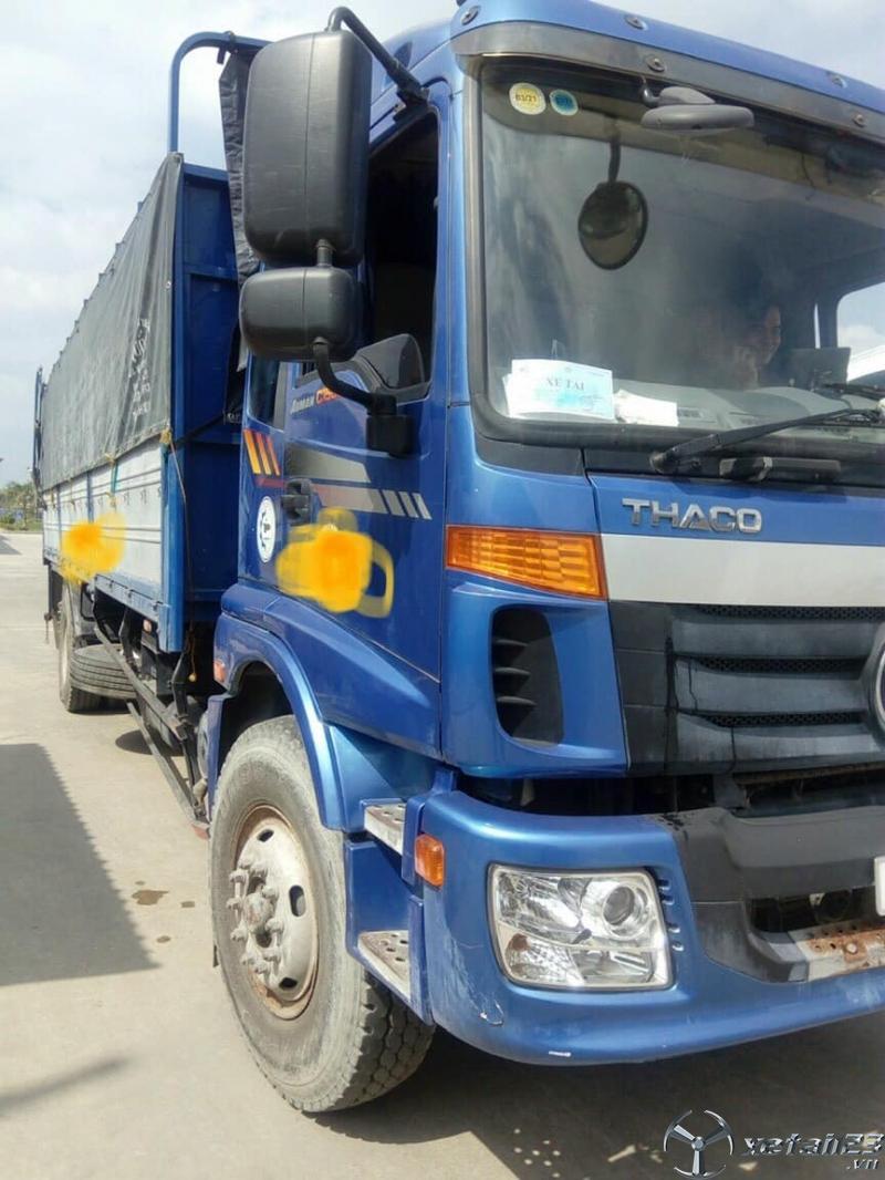 Rao bán xe Thaco Auman c1500 14,8 tấn đời 2017 thùng mui bạt