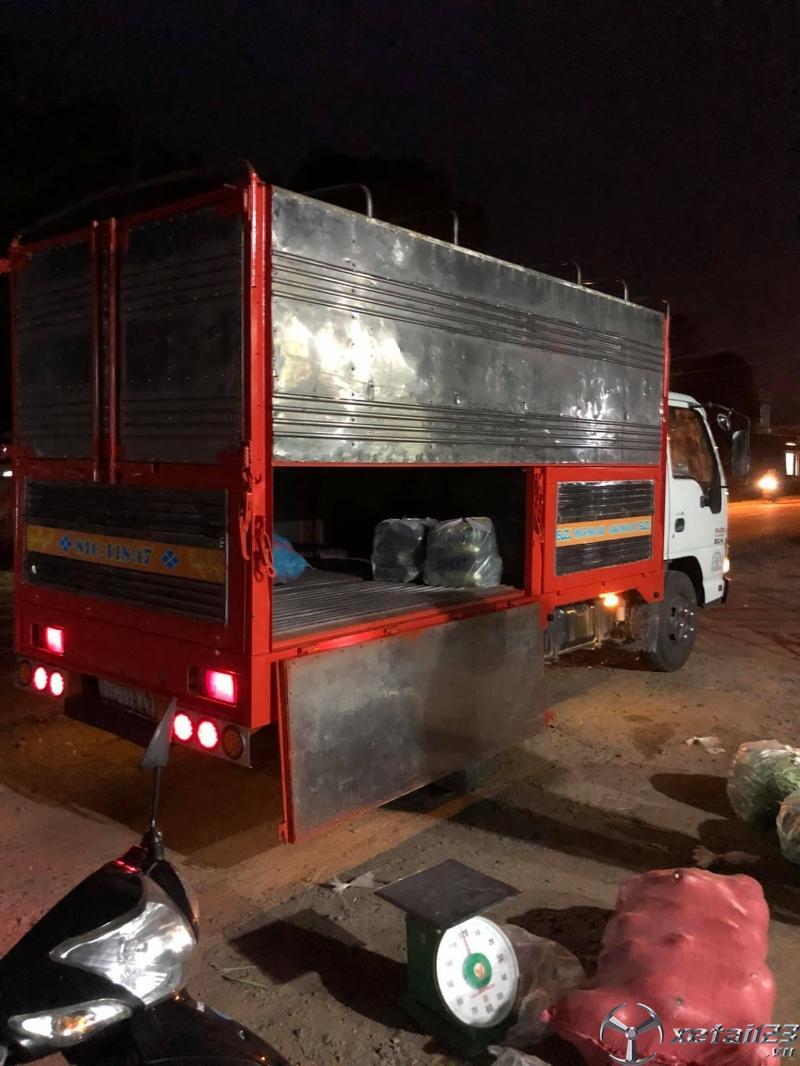Bán xe Isuzu 1,4 tấn đời 2016 thùng mui bạt