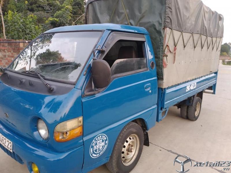Thanh lý gấp xe Hyundai 1 tấn đời 2000 thùng mui bạt giá chỉ 62 triệu