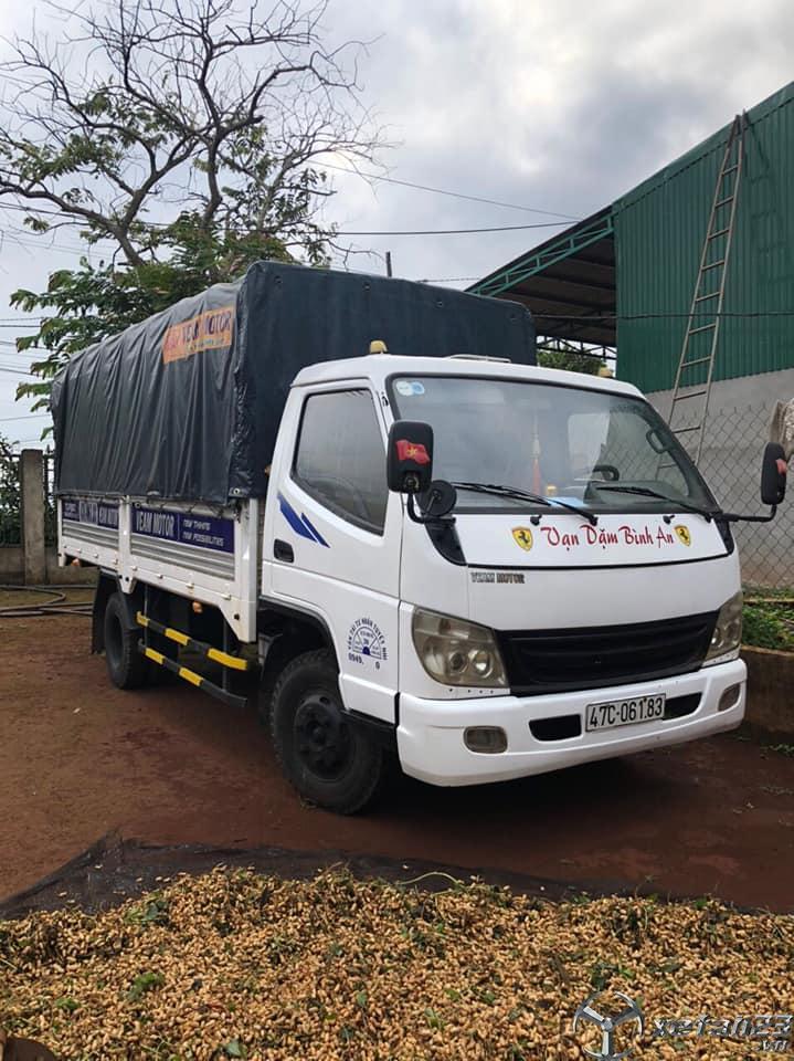 Cần bán xe tải Veam 1,9 tấn đời 2013 thùng mui bạt
