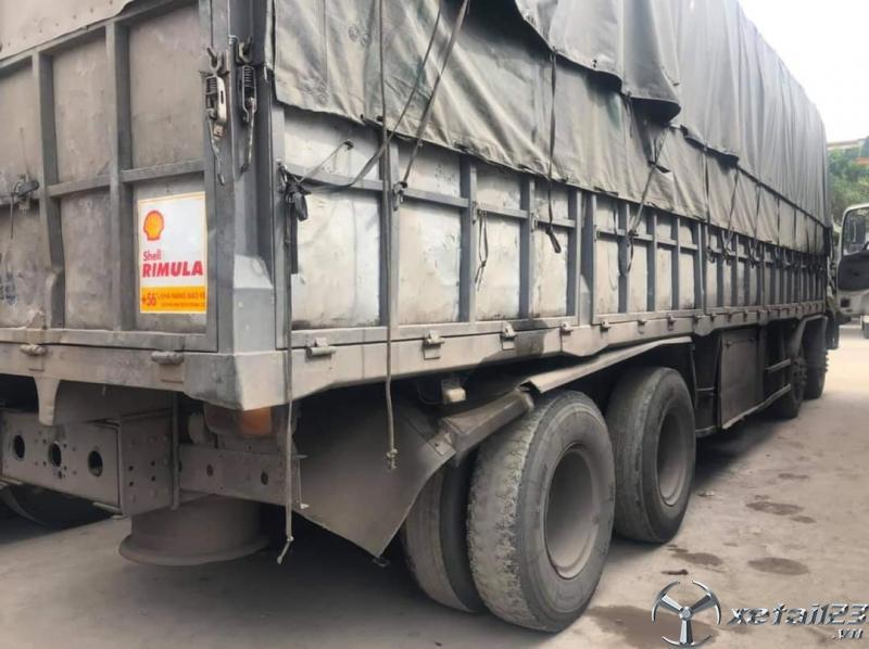 Xe Dongfeng Việt Trung 17,9 tấn đời 2014 thùng mui bạt cần bán giá rẻ nhất