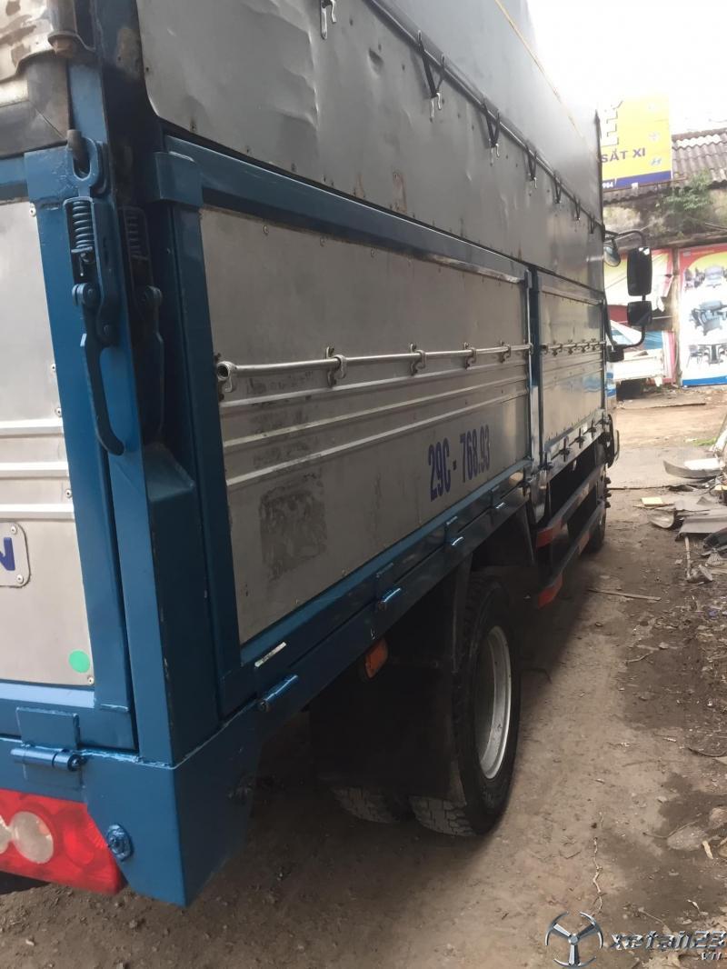 Bán gấp xe Thaco Ollin 500B 5 tấn sản xuất năm 2017 thùng mui bạt