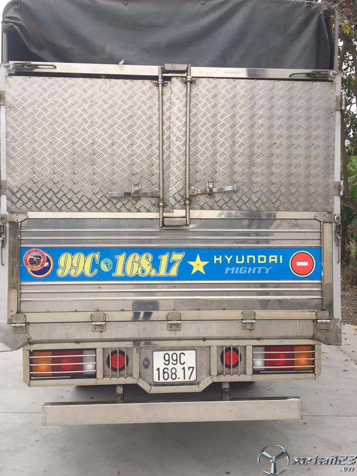Bán xe Hyundai Newmighty 6,9 tấn đời 2018 thùng mui bạt