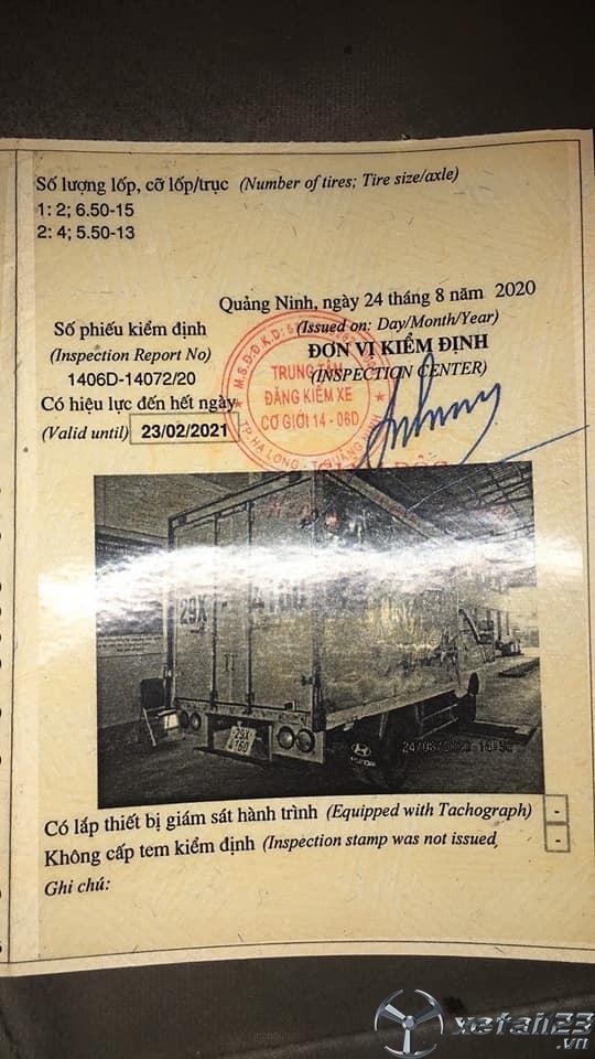 Cần bán xe Hyundai Porter  H100 1 tấn đời 2005 thùng kín giá chỉ 125 triệu