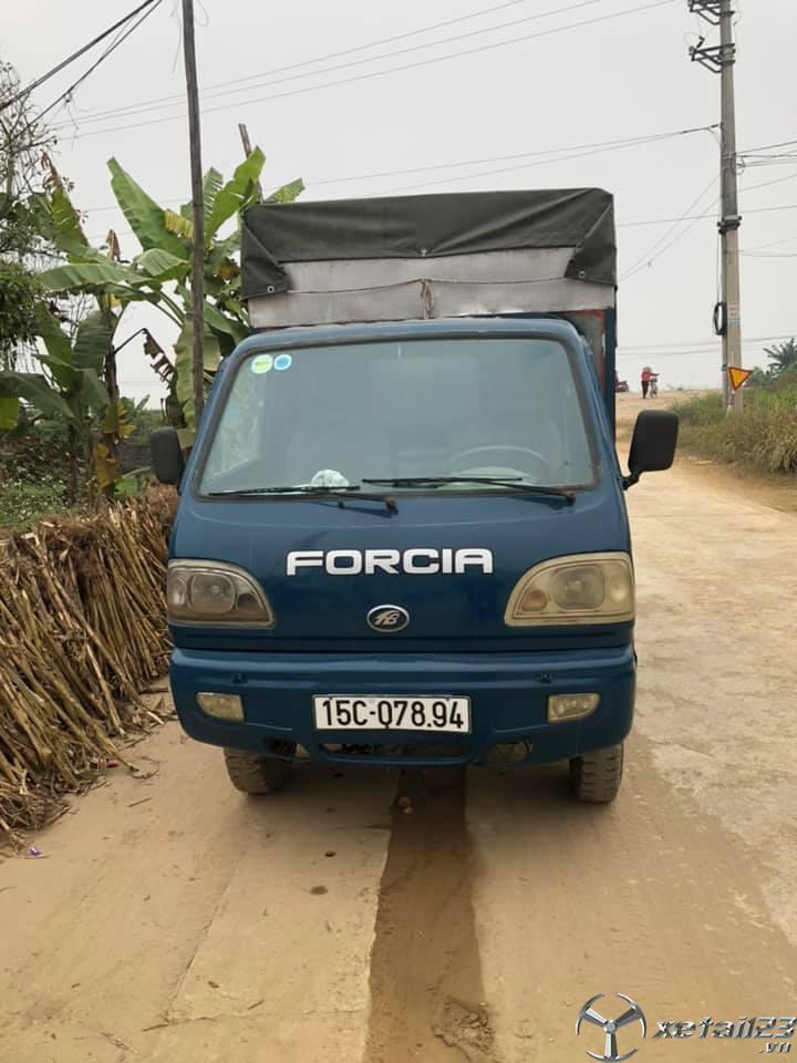 Thanh lý gấp xe Forcia 7 tạ đời 2008 thùng mui bạt giá siêu rẻ chỉ 45 triệu