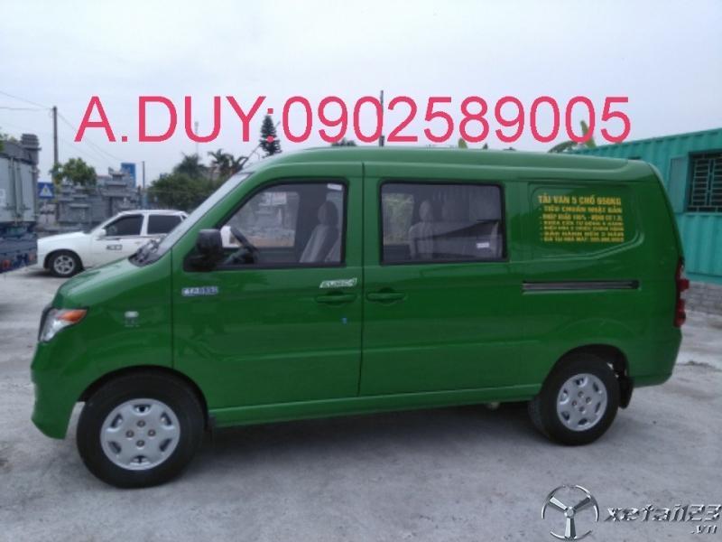 Xe tải Van kenbo 5chỗ tại Thái Bình