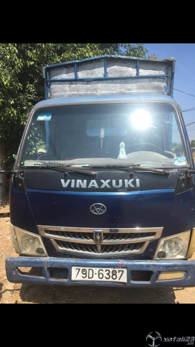 Bán xe Vinaxuki 1,5 tấn sản xuất năm 2008 thùng mui bạt