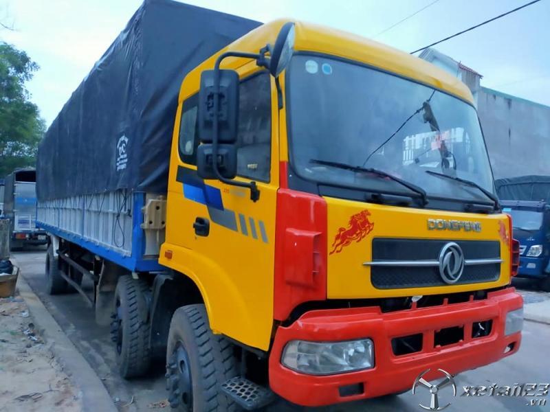 Xe Dongfeng 2 dí 9,3 tấn đời 2012 thùng mui bạt đã qua sử dụng cần bán giá tốt nhất