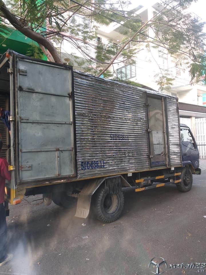 Xe Vinaxuki 1,8 tấn đời 2011 thùng kín cần bán với giá siêu rẻ chỉ 80 triệu