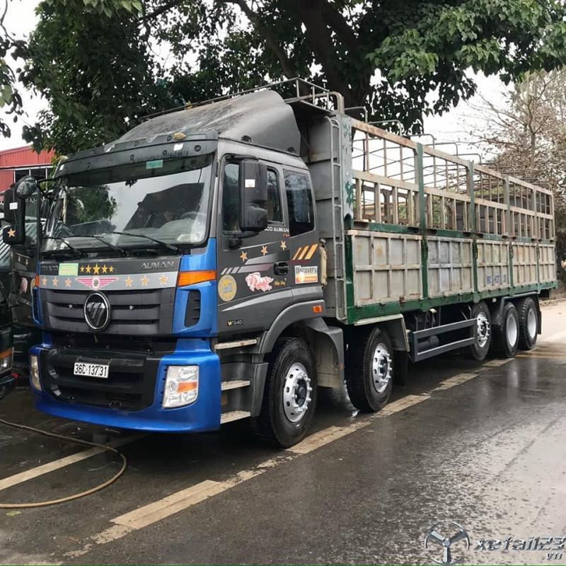 Bán xe Thaco Auman C34 5 chân đời 2015 tải trọng 20,5 tấn