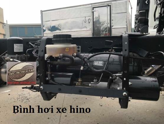 Tổng phanh và Bình hơi khí nén nguyên cụm xe hino 500 series FL, FM