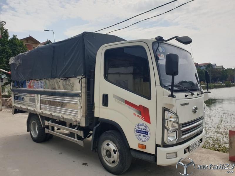 Cần bán xe Teraco 2,35 tấn sản xuất 2018 thùng mui bạt giá chỉ 280 triệu