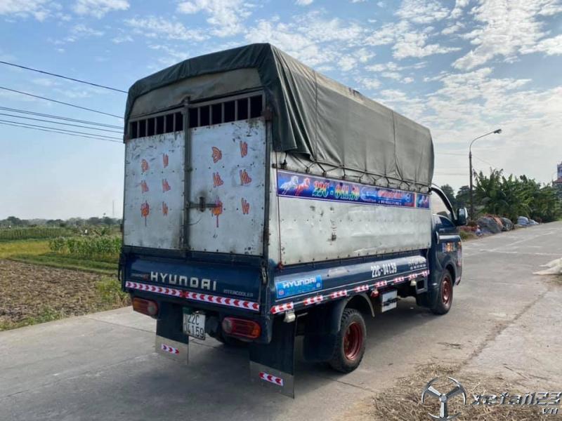 Thanh lý gấp xe Hyundai Porter II 1 tấn sx 2004 , đăng kí năm 2009 thùng mui bạt