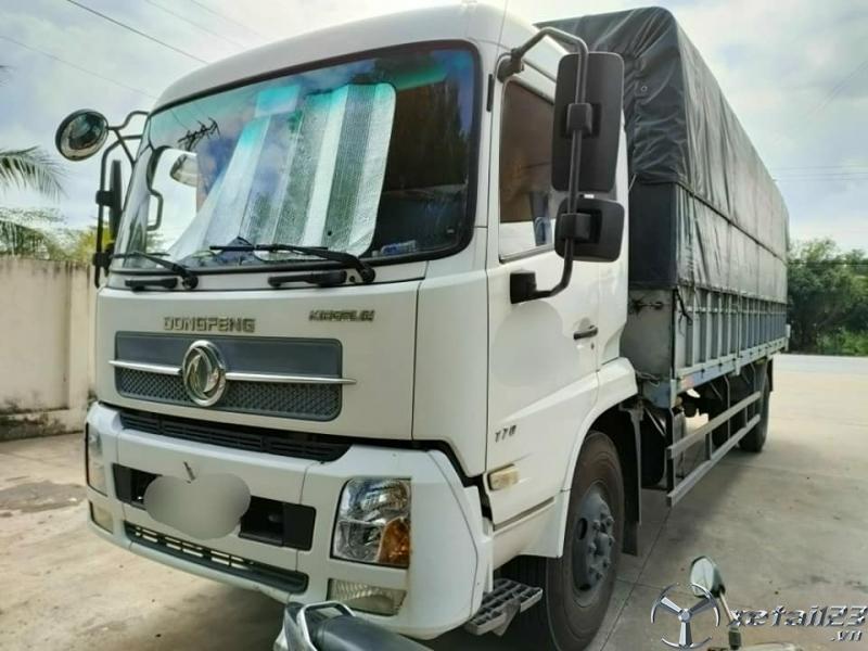Cần bán xe Dongfeng Hoàng Huy B170 9,6 tấn đời 2015 thùng mui bạt