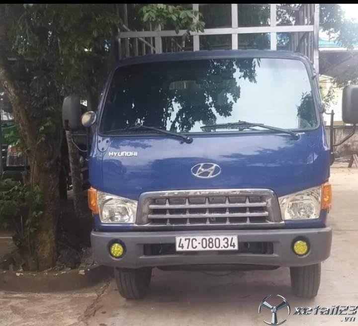 Xe Hyundai Mighty HD72 3,4 tấn đời 2014 thùng mui bạt cần bán giá 420 triệu
