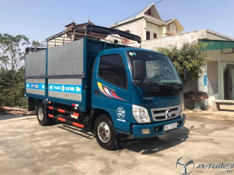 Bán xe Thaco Ollin 500B sản xuất năm 2016 thùng mui bạt