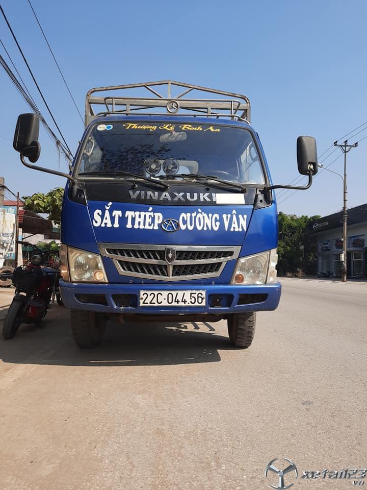 Cần bán gấp xe Vinaxuki đời 2008 thùng mui bạt giá rẻ nhất