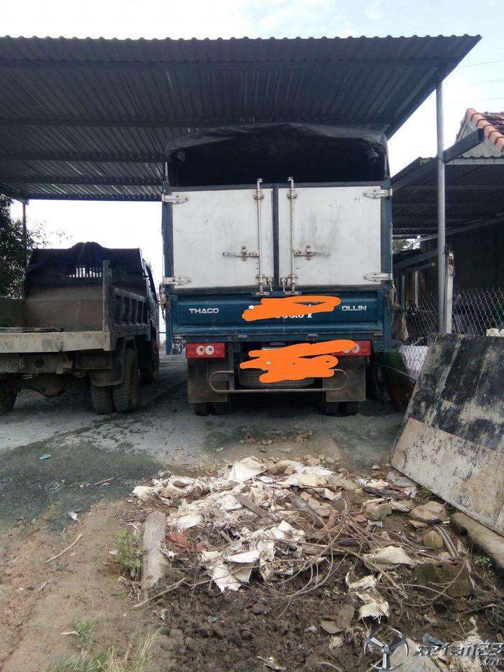 Bán gấp xe Thaco Ollin 3,5 tấn đời 2017 thùng mui bạt