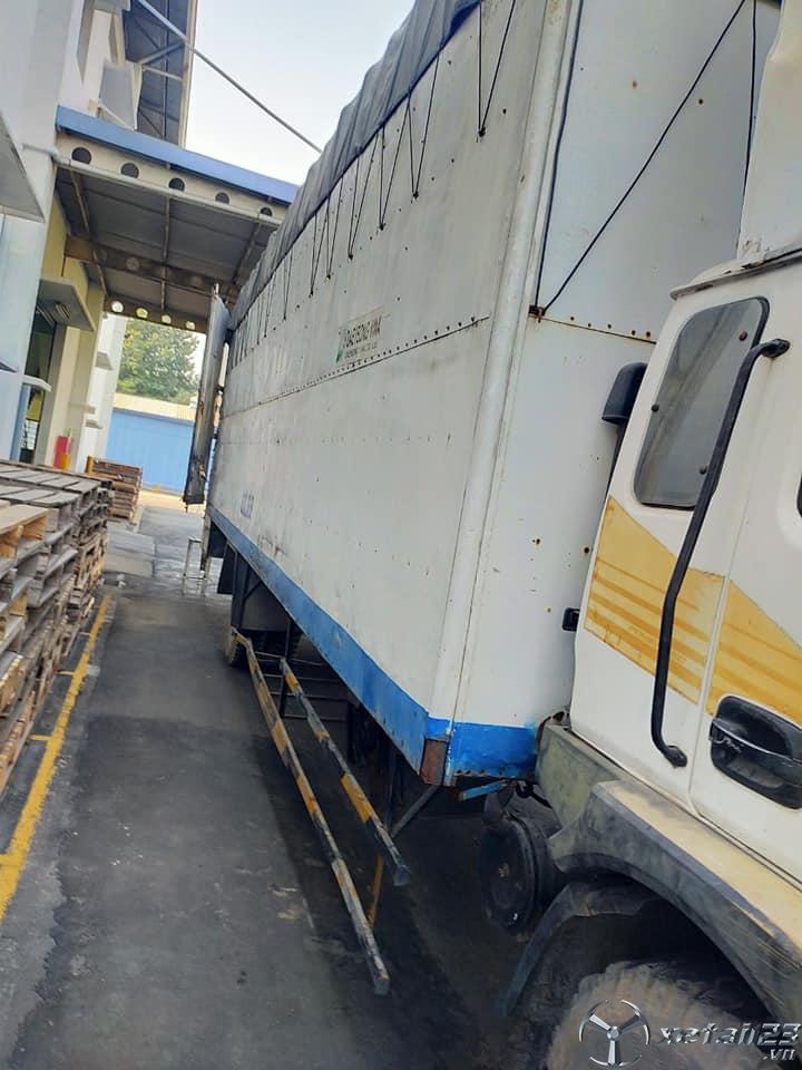 Bán xe Cửu Long 8 tấn đời 2007 thùng mui bạt