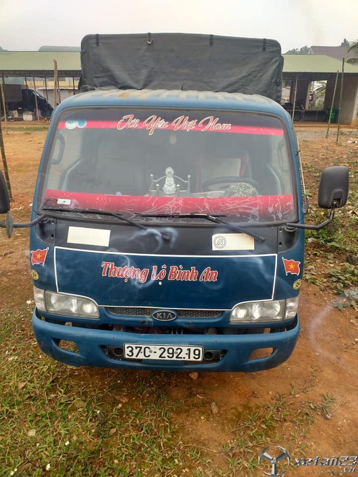 Rao bán xe Kia K3000S đời 2013 thùng mui bạt giá rẻ nhất