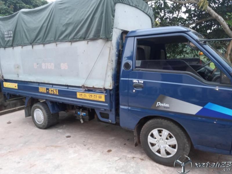Thanh lý gấp xe Hyundai 1 tấn đời 2005 thùng mui bạt