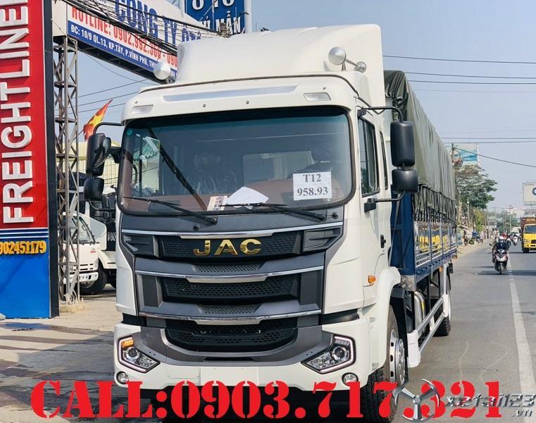 Bán xe tải 9 tấn Jac A5 nhập khẩu mới 2021. Xe tải Jac A5 tải 8 Tấn , 9 tấn mới 2021