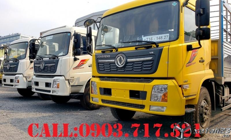 Bán xe tải DongFeng 9 tấn - 10 tấn mới 2021 nhập khẩu chính hãng DongFeng Hoàng Huy
