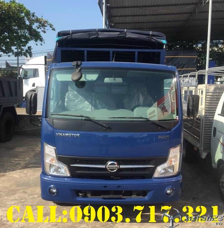 Công ty bán xe tải Nissan thùng bạt, thùng kín giá tốt tại Miền Nam