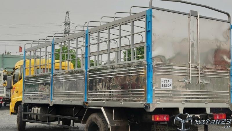 Xe tải DONGFENG HOÀNG HUY B180 9T thùng dài 7m7 đời 2021