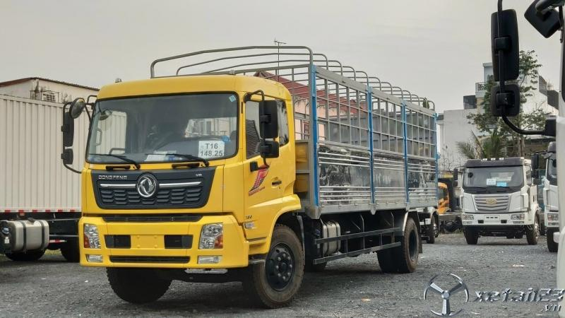 Xe tải DONGFENG HOÀNG HUY B180 thùng dài 7m7 nhập khẩu mới 100%