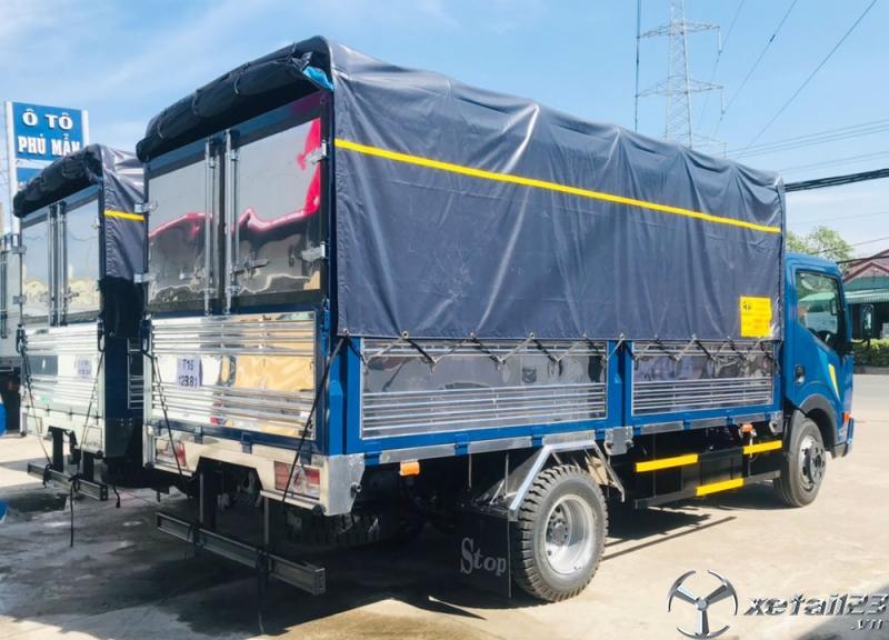 XE TẢI NISSAN 3T5 THÙNG LỬNG NS350 trả trước 80tr nhận xe