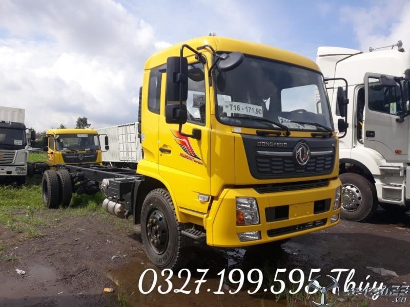 Xe tải Dongfeng B180 8T15 thùng bạc xuất xưởng ĐỒNG NAI
