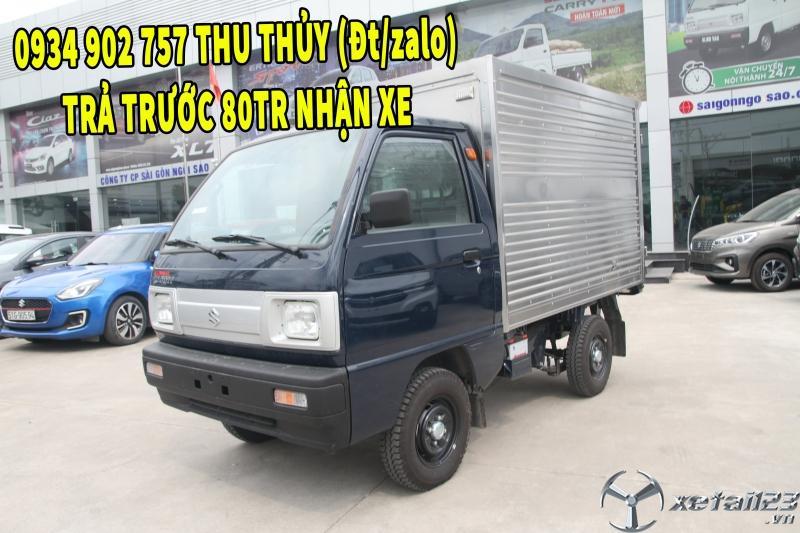 SUZUKI 500KG THÙNG KÍN INOX GIÁ RẺ- 80 TR NHẬN XE