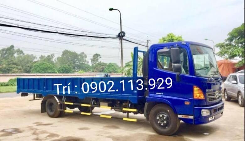 Xe tải Hino FC9JLTC - thùng lửng 3 bửng bên hông dài 6,8 m. Hỗ trợ vay trả góp lên đến 85%