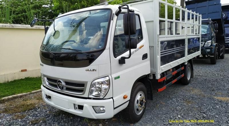 Xe tải Thaco OLLIN350 tải 2.4 tấn nâng tải 3.5 tấn các loại thùng, thùng 4.35m, hỗ trợ trả góp