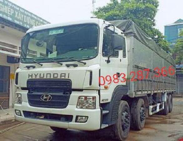 Bán xe Hyundai HD320 tải trọng 17,5 tấn -thùng mui bạt , giá tốt nhất