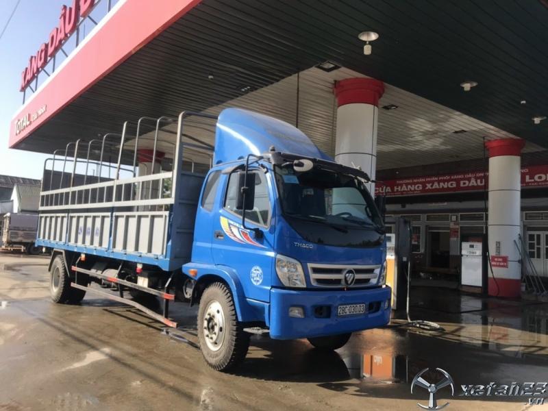 Bán Thaco Ollin 950A đời 2016 thùng mui bạt với giá chỉ 415 triệu