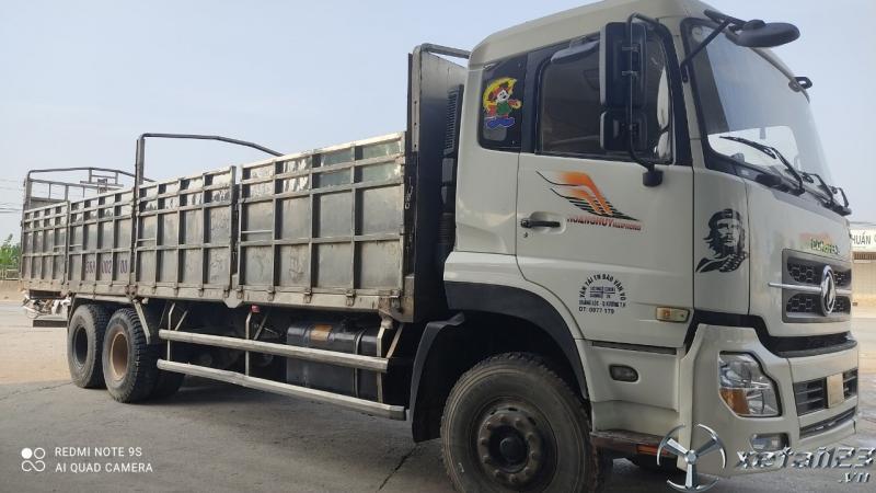 Bán xe Dongfeng Hoàng Huy đời 2015 thùng mui bạt giá chỉ 665 triệu