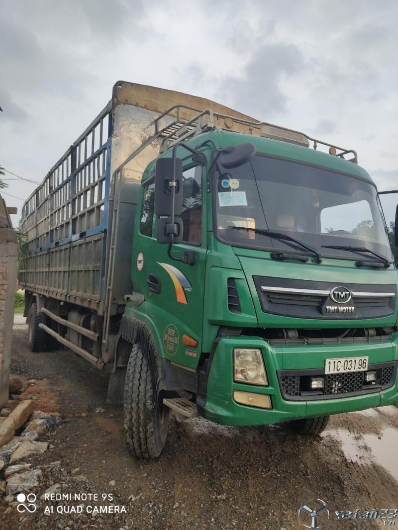 Bán xe TMT thùng mui bạt 9,3m sx 2015 , đăng kí 2016 với giá chỉ 480 triệu