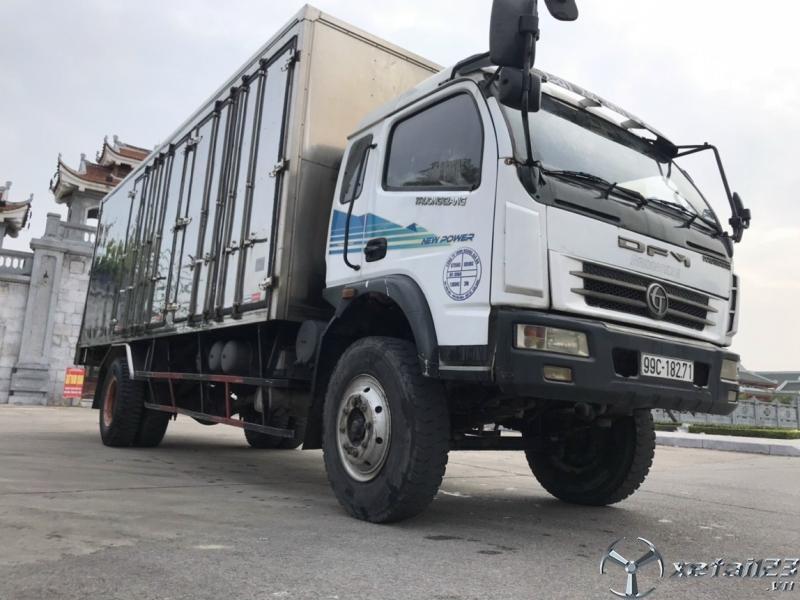 Cần bán xe Trường Giang sx năm 2014 thùng kín giâ 300 triệu