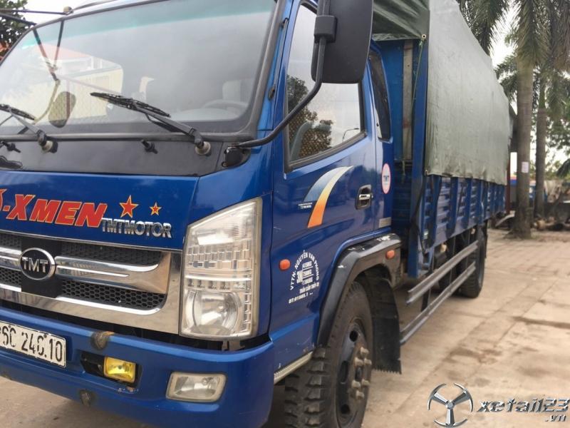 Rao bán xe Cửu Long 7,5 tấn đời 2016 thùng mui bạt