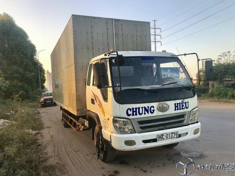 Rao bán xe tải Faw 5 tấn đời 2008 thùng kín