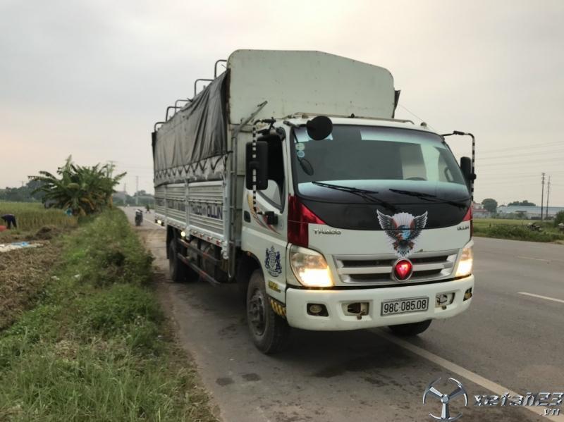 Rao bán xe Thaco Ollin 700B đời 2015 thùng mui bạt với giá 315 triệu