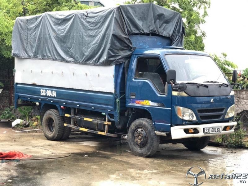 Thanh lý gấp xe Thaco FC 250 tải trọng 2 tấn đời 2009 thùng mui bạt