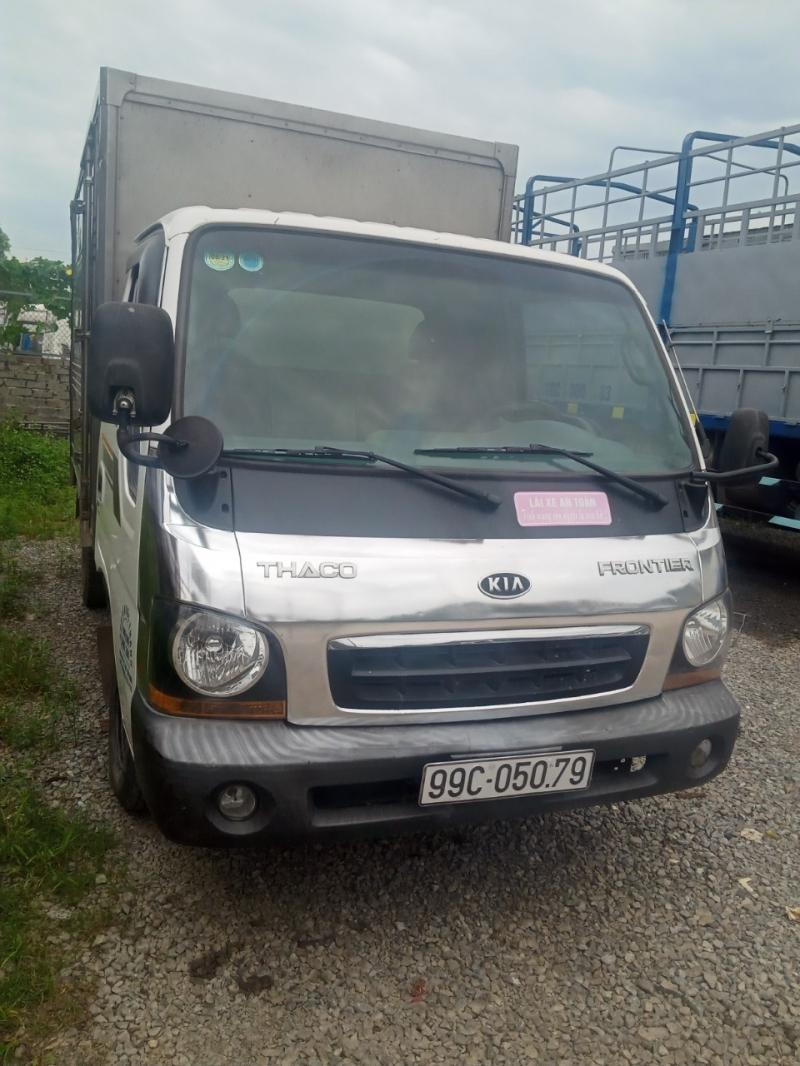 Xe Thaco  Frontier125 tải trọng 1,25 tấn ,đời 2014 -phiên bản thùng kín cần bán